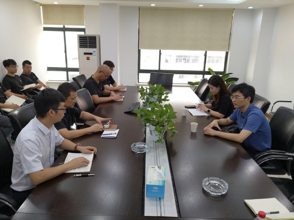 陈再时看望慰问台州服务中心松门服务部员工